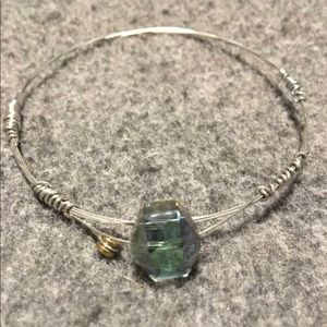 Jewelry - Handmade Guitar string bangle bracelet